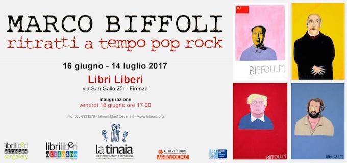 MARCO BIFFOLI - ritratti a tempo pop rock