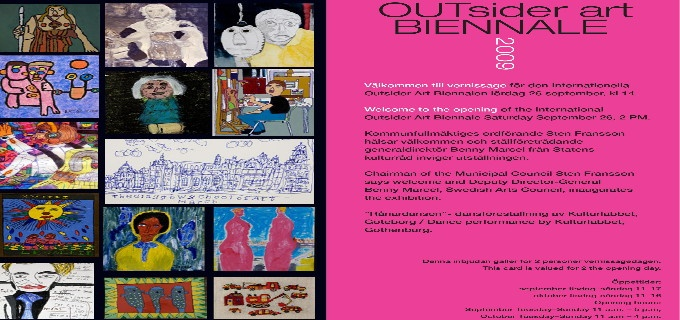 The international OUTsider art BIENNALE