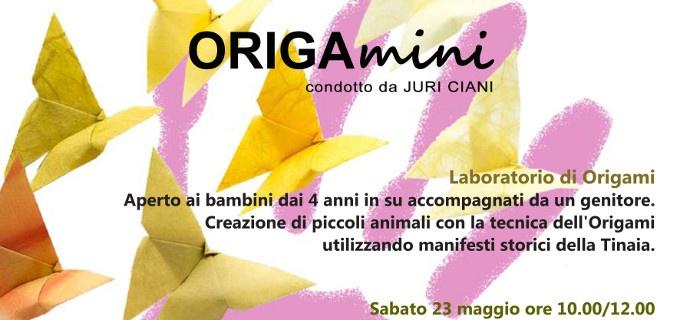 ORIGAmini - laboratorio di origami per bambini condotto da Juri Ciani