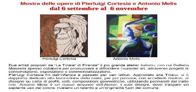 Mostra delle opere di Pierluigi Cortesia e Antonio Melis