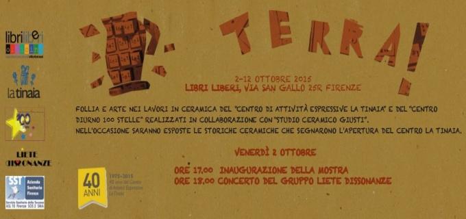 TERRA! mostra di ceramica